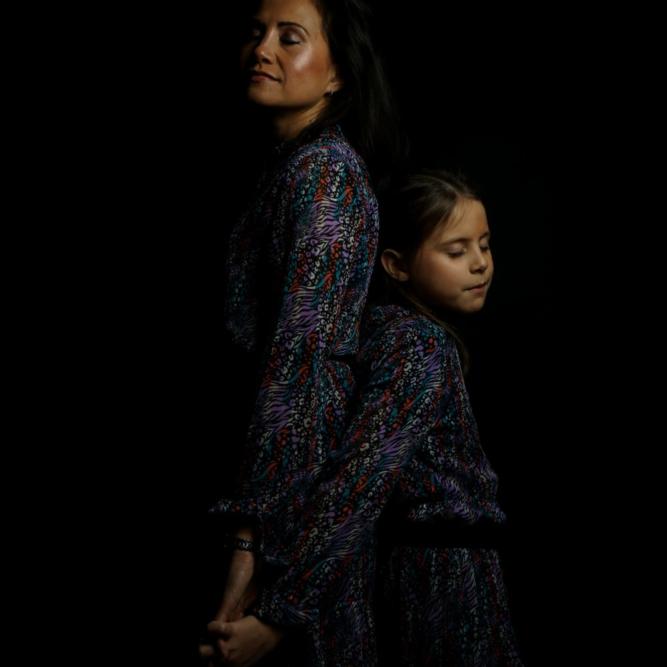 Moeder dochter fotoshoot Rotterdam